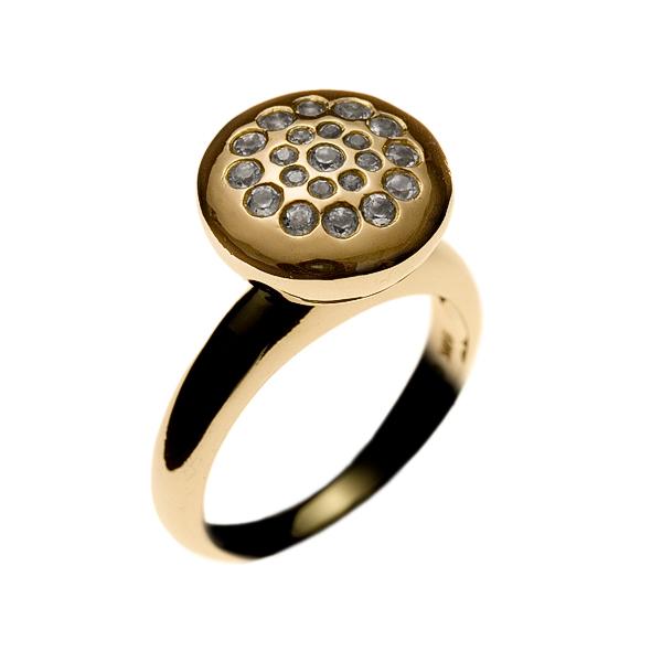 Lotus Line Ring